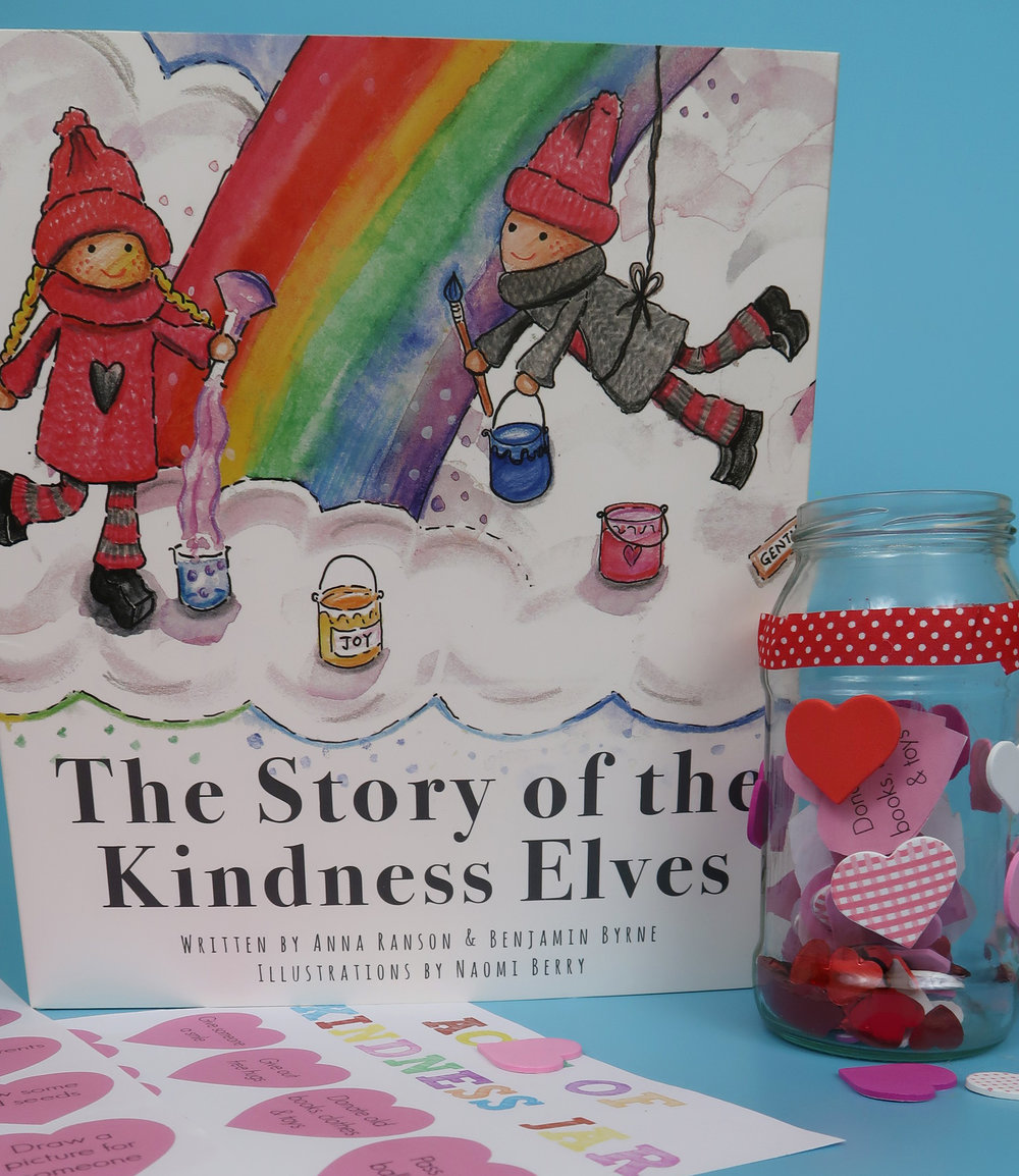 how to make a kindness jar with the kindness elves