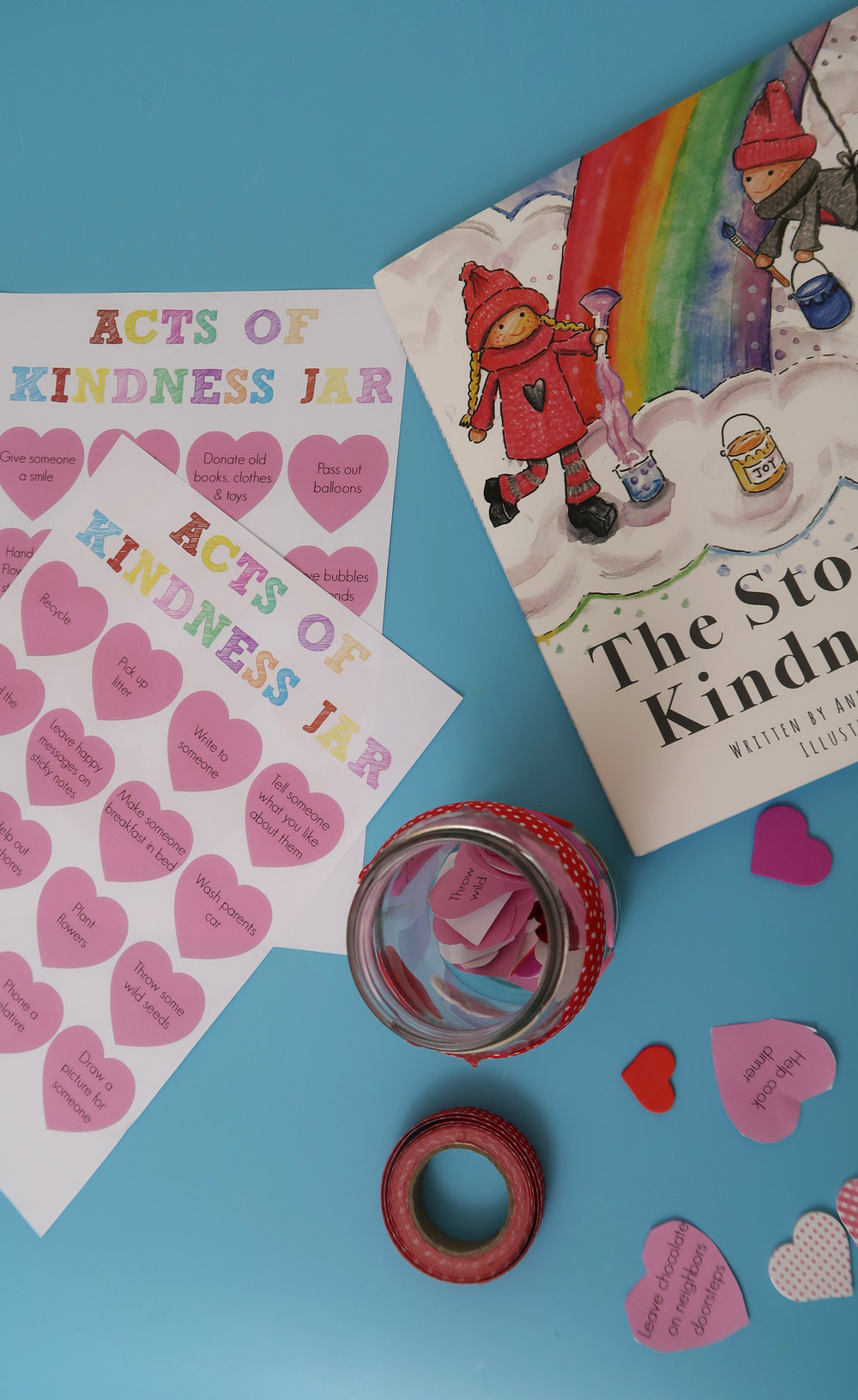 how to make a random acts of kindness jar