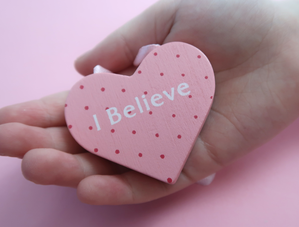 I believe heart shape door hanger
