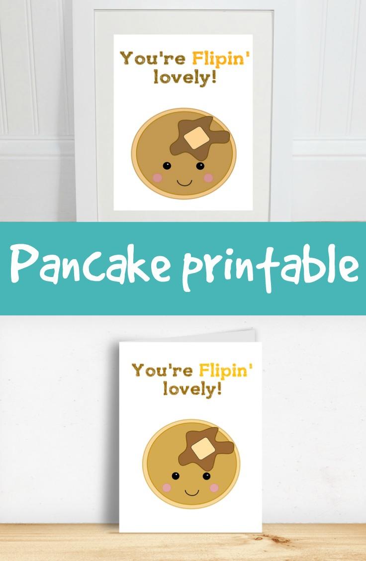 free pancake printables
