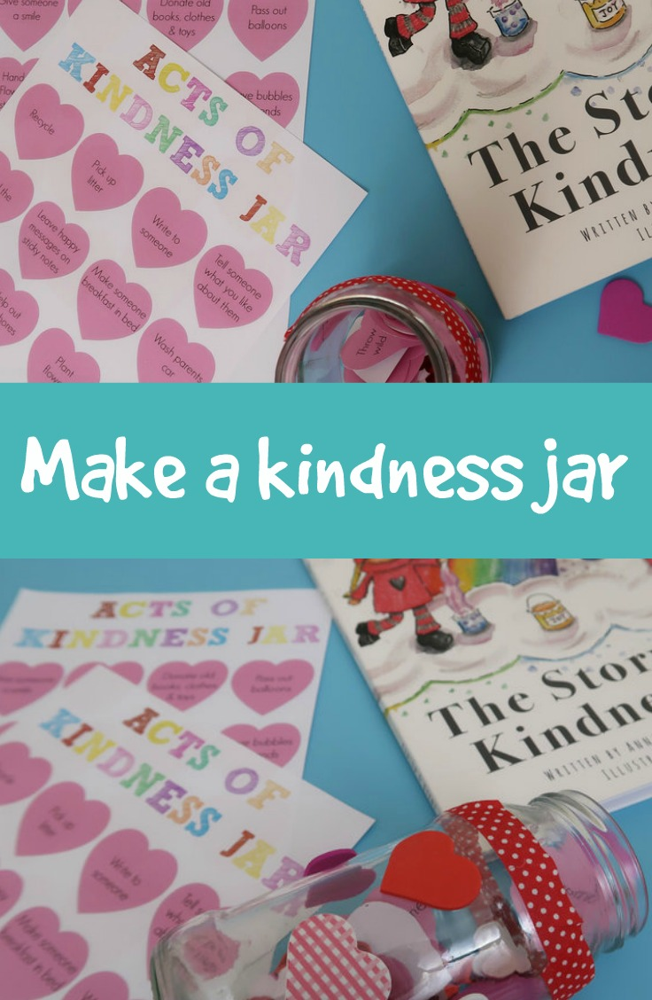 How to make a kindness jar
