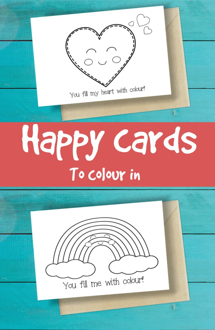 happy card printable