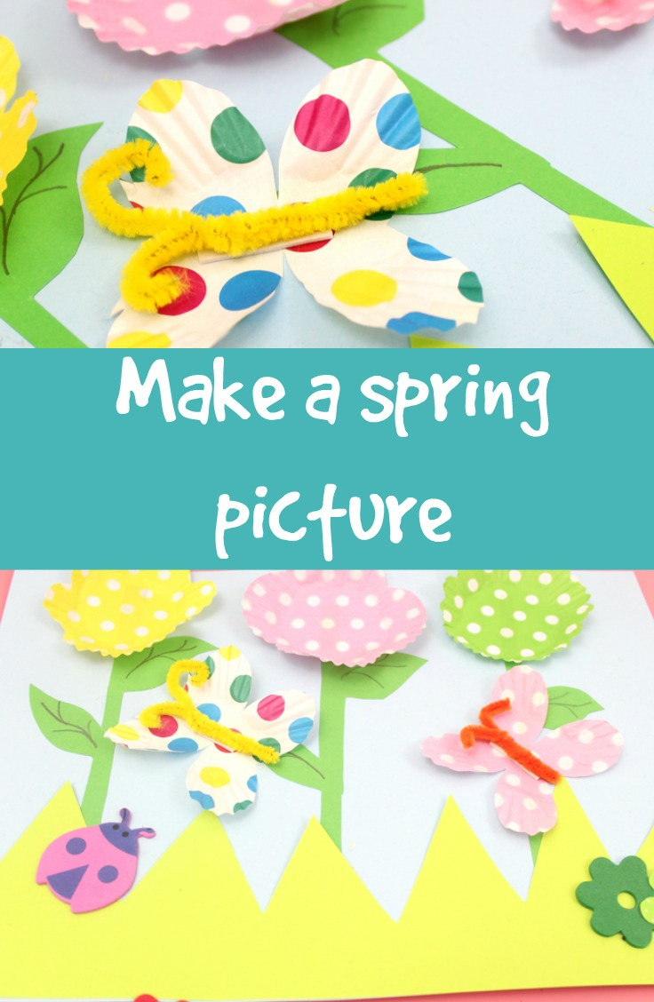 how to make a 3D spring picture
