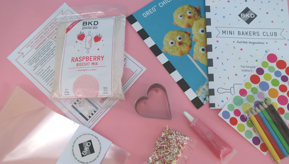 BKD mini bakers club monthly subscription box