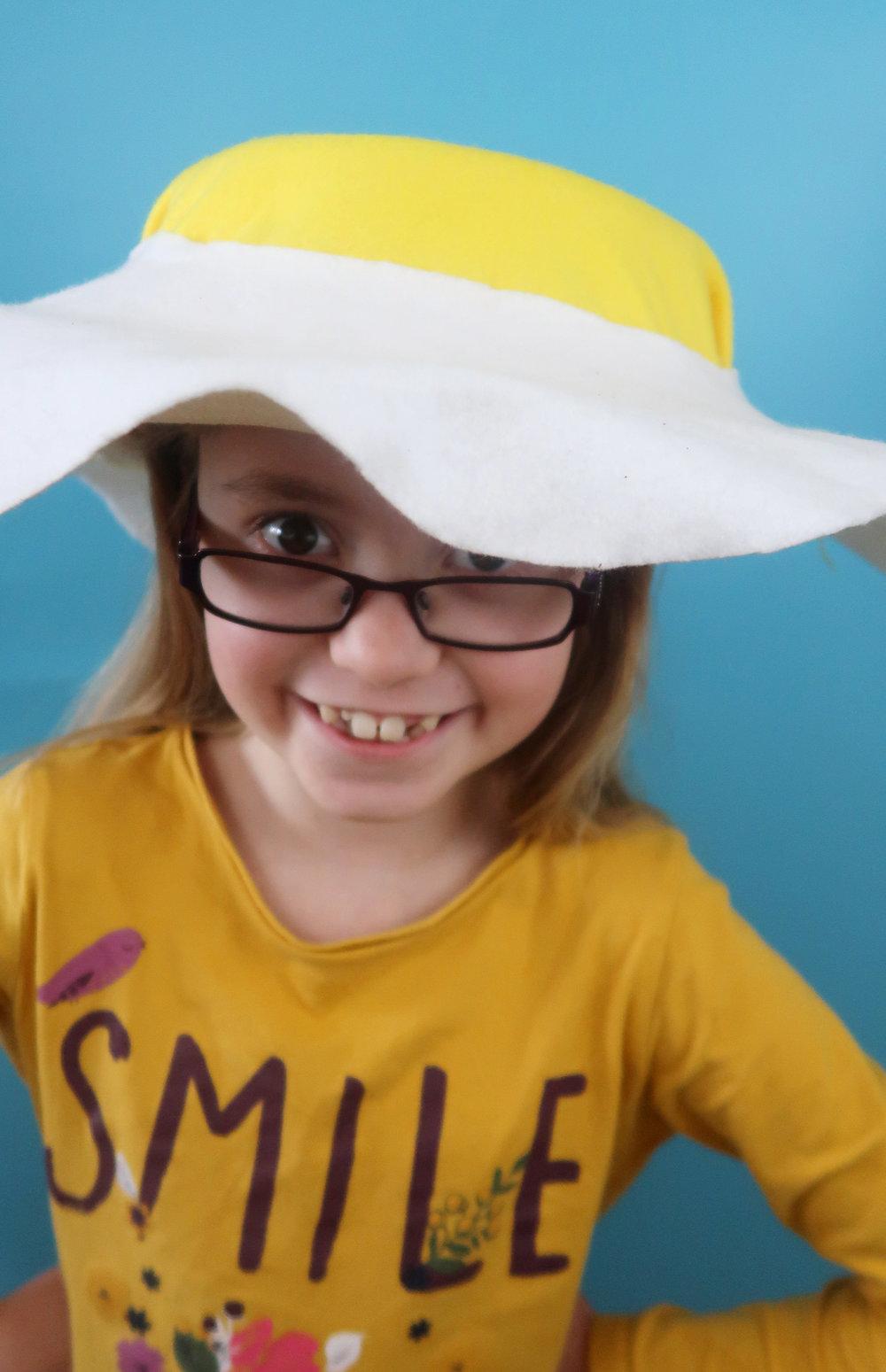 kids easter bonnet idea