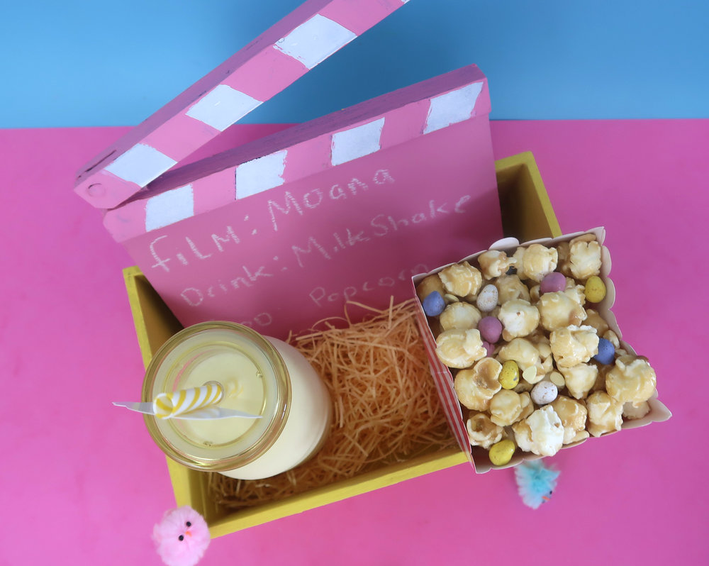 how to make a chick flicks box