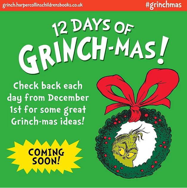 12 days of grinchmas