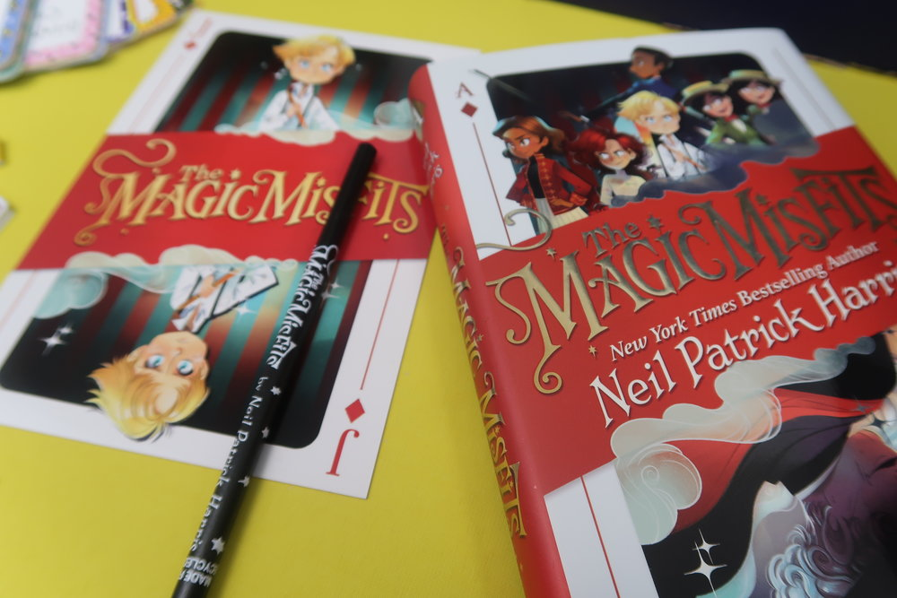 magic misfits book by neil Harris