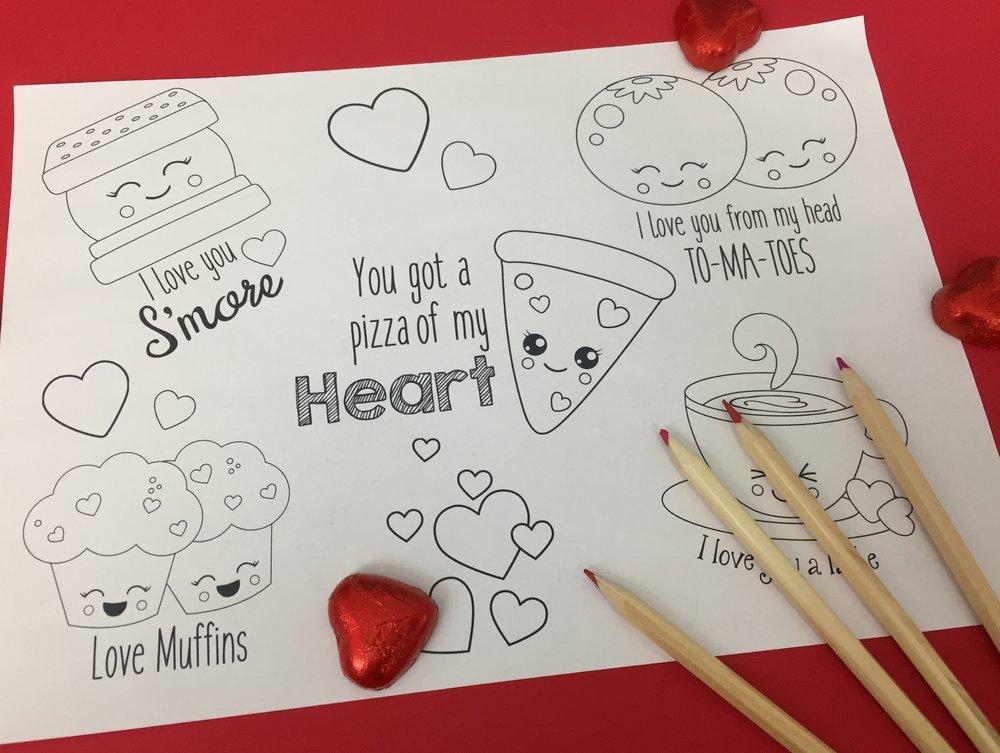 cute valentines food