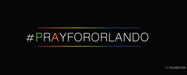 PA Foundation comes together to supportOrlando Tragedy #PrayForOrlando