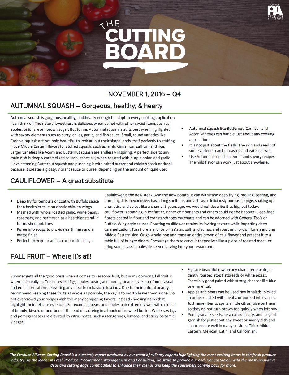 The Cutting Board