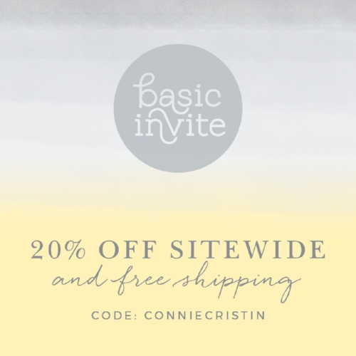 BASIC INVITE DISCOUNT CODE
