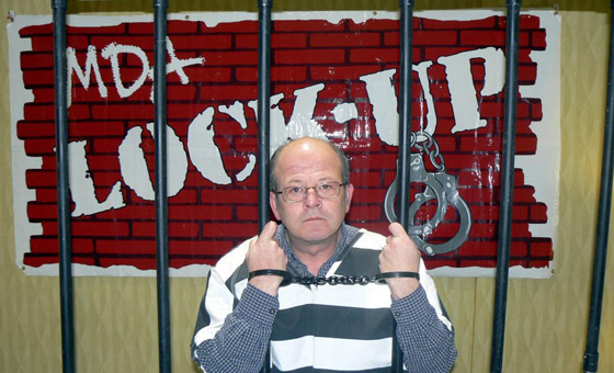 Keith Bushey MDA Lock-up