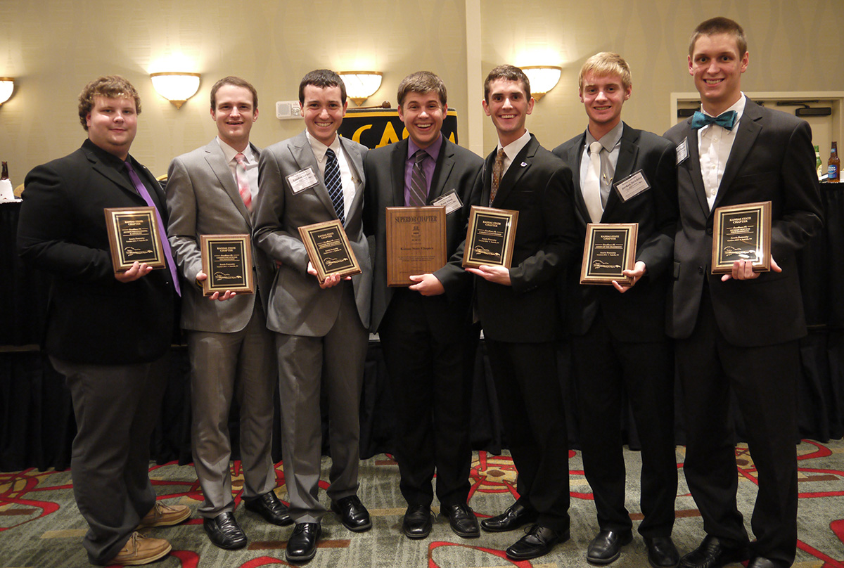 Kansas State Chapter - Conclave 2014
