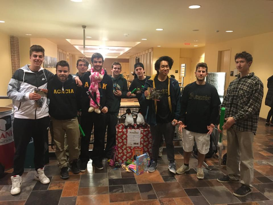 Millersville Chapter Celebrates A Successful Acacia Claus