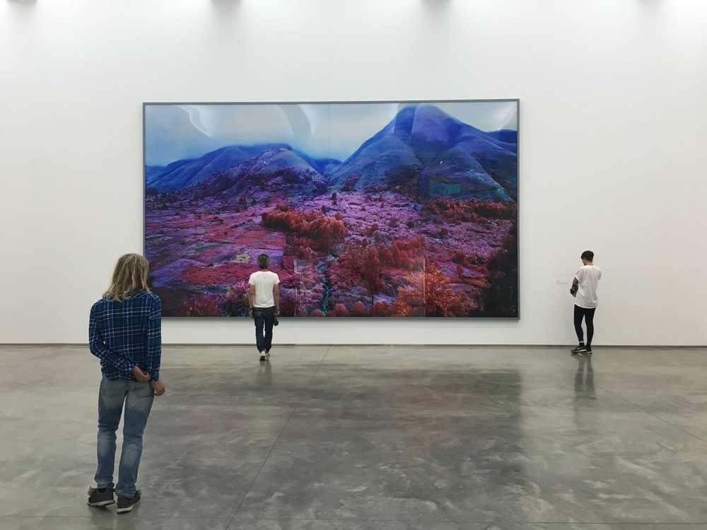 Richard Mosse,  Everything Merges with the Night , 2015, Digital C-Print, 164x280 inches.
