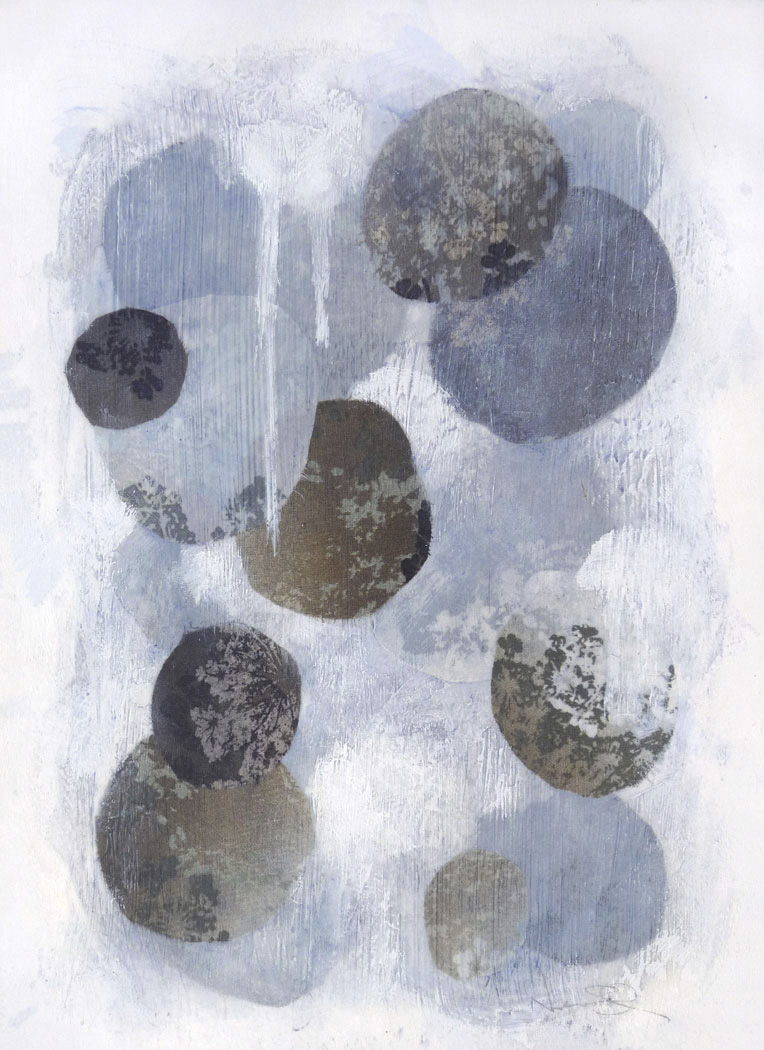 Untitled I , 2014.  Mixed media on paper. 15 x 11 inches (38.1 x 27.9 cm)