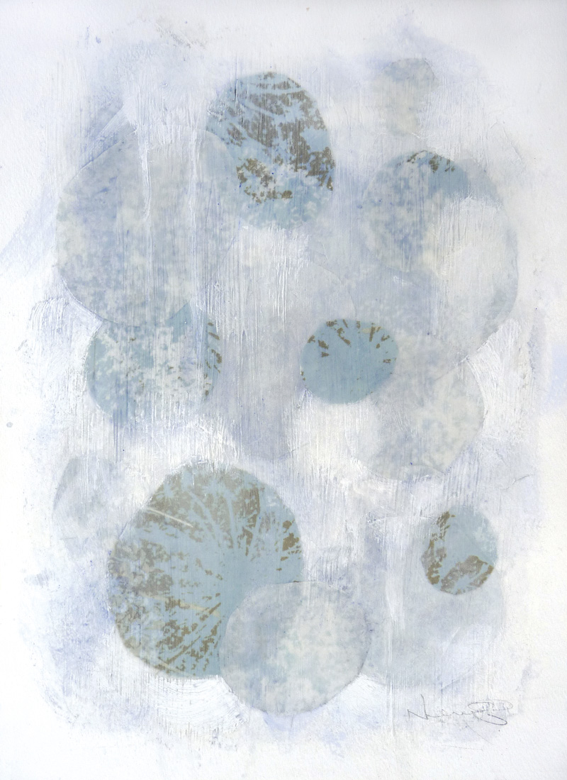 Untitled III , 2014.  Mixed media on paper. 15 x 11 inches (38.1 x 27.9 cm)