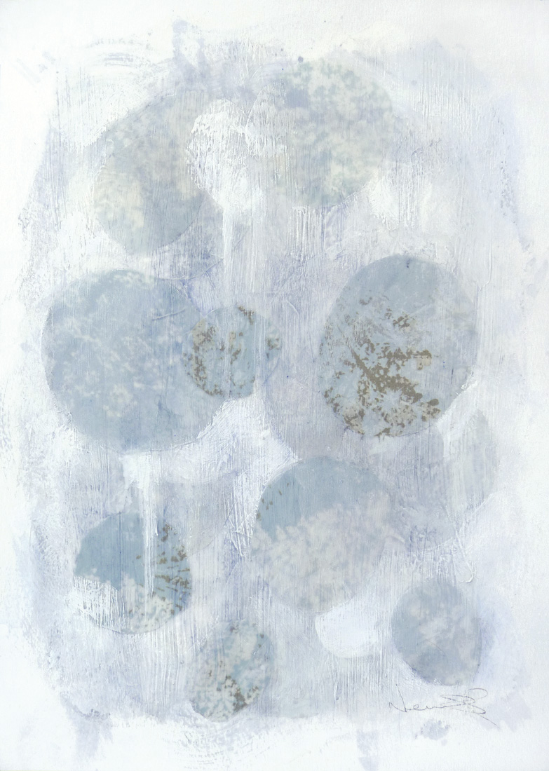 Untitled IV , 2014.  Mixed media on paper. 15 x 11 inches (38.1 x 27.9 cm)