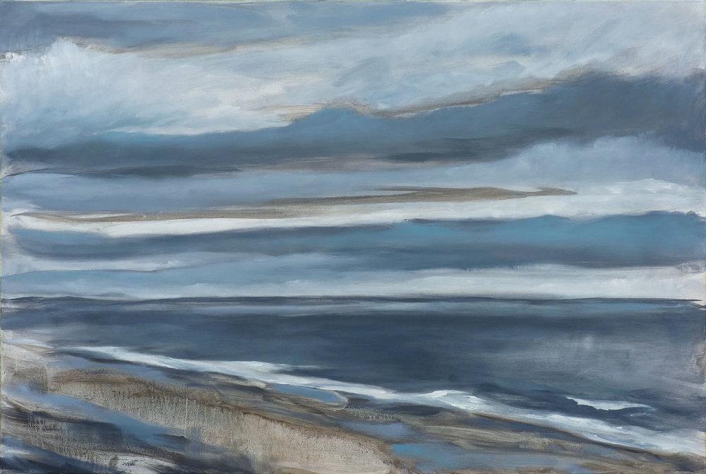 Shoreline III , 2018. Oil on canvas. 24x36 inches