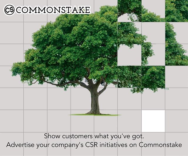 Get the recognition you deserve as a good corporate citizen. Advertise on commonstake.com! Get a quote by emailing info@commonstake.com.