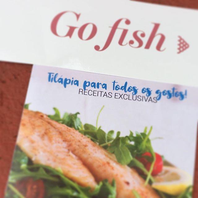 Caderninho especial de receitas!! #clubegofish  Vai junto com sua caixinha!  Muitas receitas e dicas preciosas...😍😉🐟🐟🐟