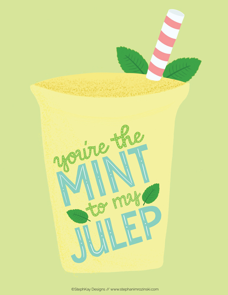 Mint Julep by Stephani Mrozinski