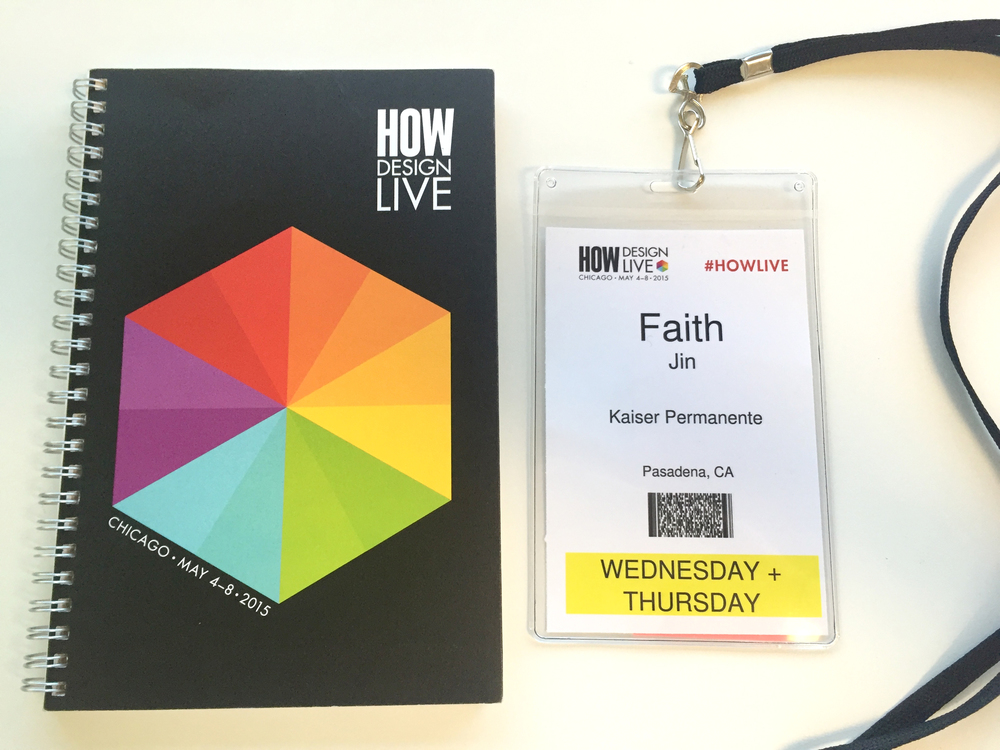 Attended the HOW Design Conference in Chicago for 2 days.