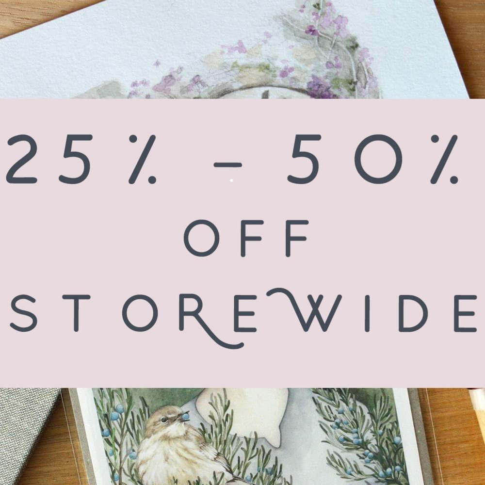 "I'm having a huge sale! 25% - 50% off all items in my  Etsy shop  as part of Etsy's 13th birthday celebration It's for 6 days only (18th -23rd June AEST) so don't miss out!  All 5""x7"" prints are 50% off and everything else is 25% off   (ノ◕ヮ◕)ノ*:・゚✧   I'll be putting the money from these sales towards some new products for my shop and upcoming markets/conventions because I'd love to branch out and offer you more ●‿●"