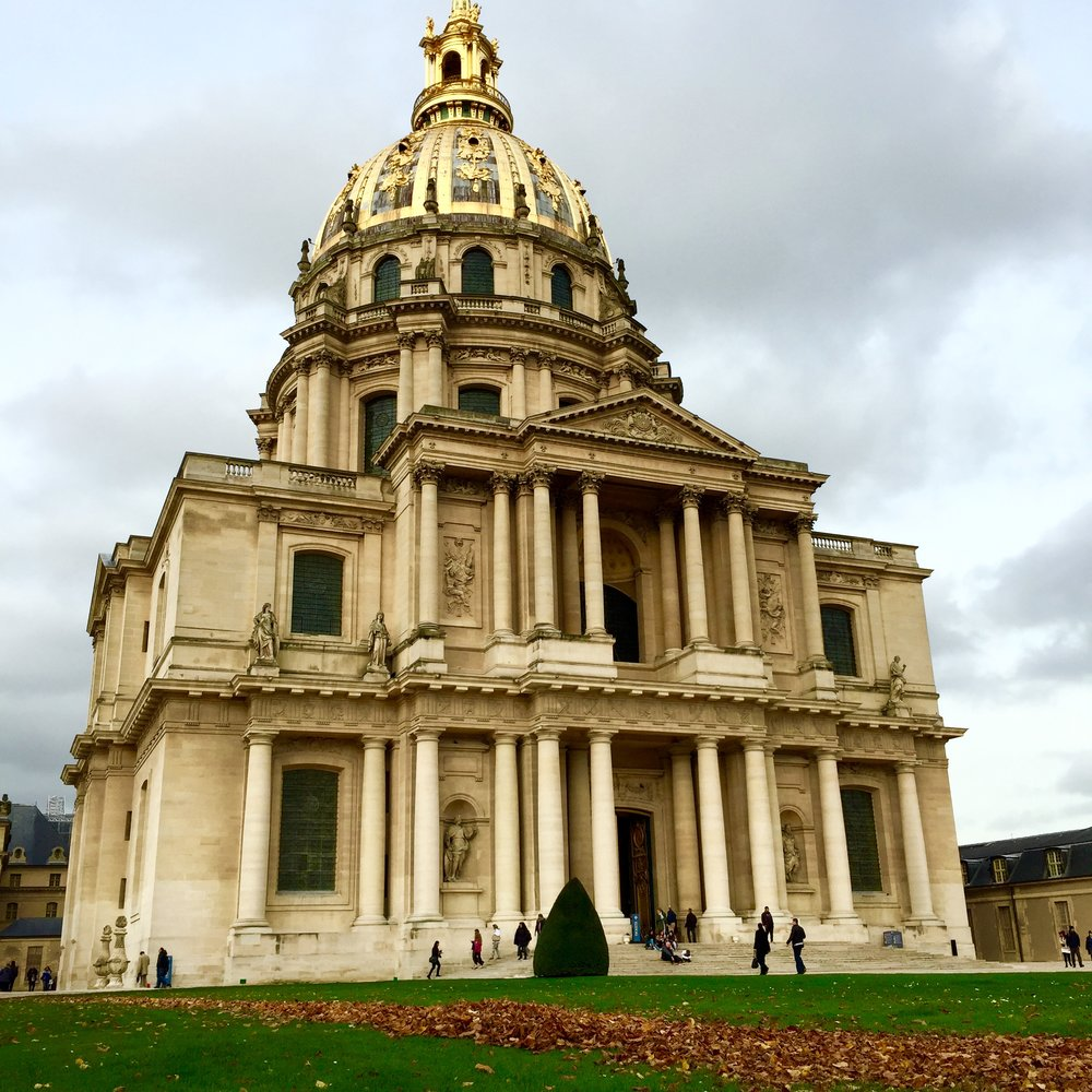 The architecture throughout Paris really makes you appreciate the history of the city.