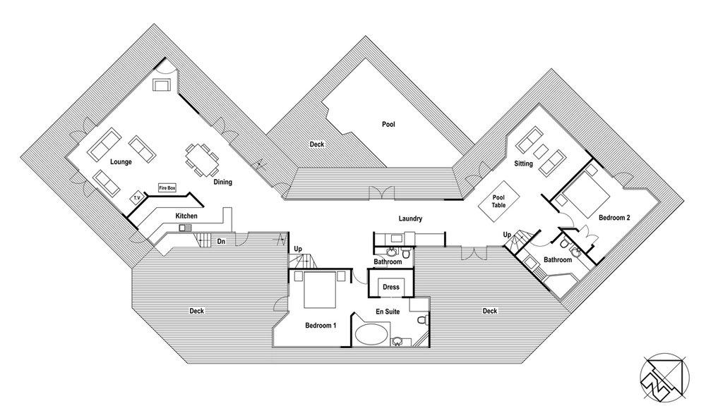 Homestead Plan - Lower Level
