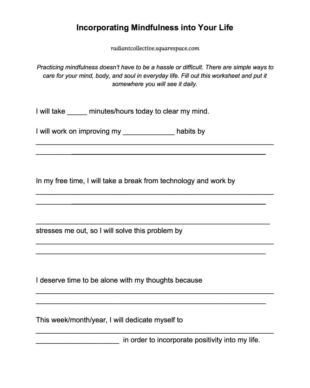 worksheet Positivity Worksheets workbooks positivity worksheets free printable for 100 images 10 ways to practice