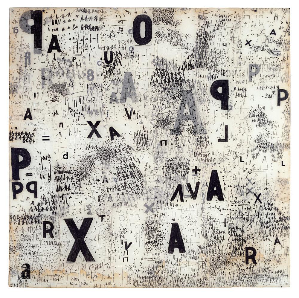 Mira Schendel,  Sin título, de la serie Objetos Gráficos  (1967)    (courtesy of Colección Patricia Phelps de Cisneros)