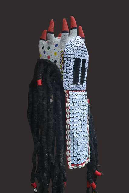 © Hervé Youmbi, Bamileke-Dogon Ku'ngang Mask, 2014 Courtesy Axis Gallery
