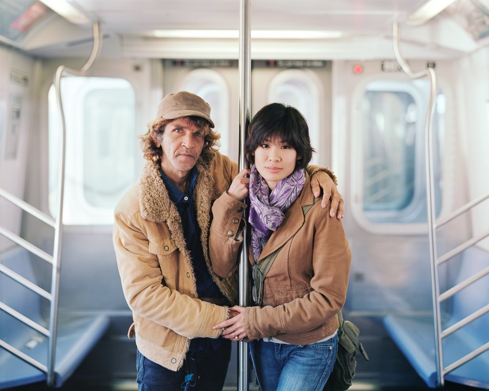 Alfredo and Jessica, 2011, New York, New York- Touching Strangers
