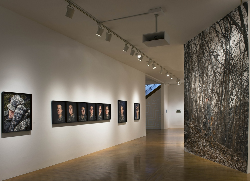 Fall In , installation view
