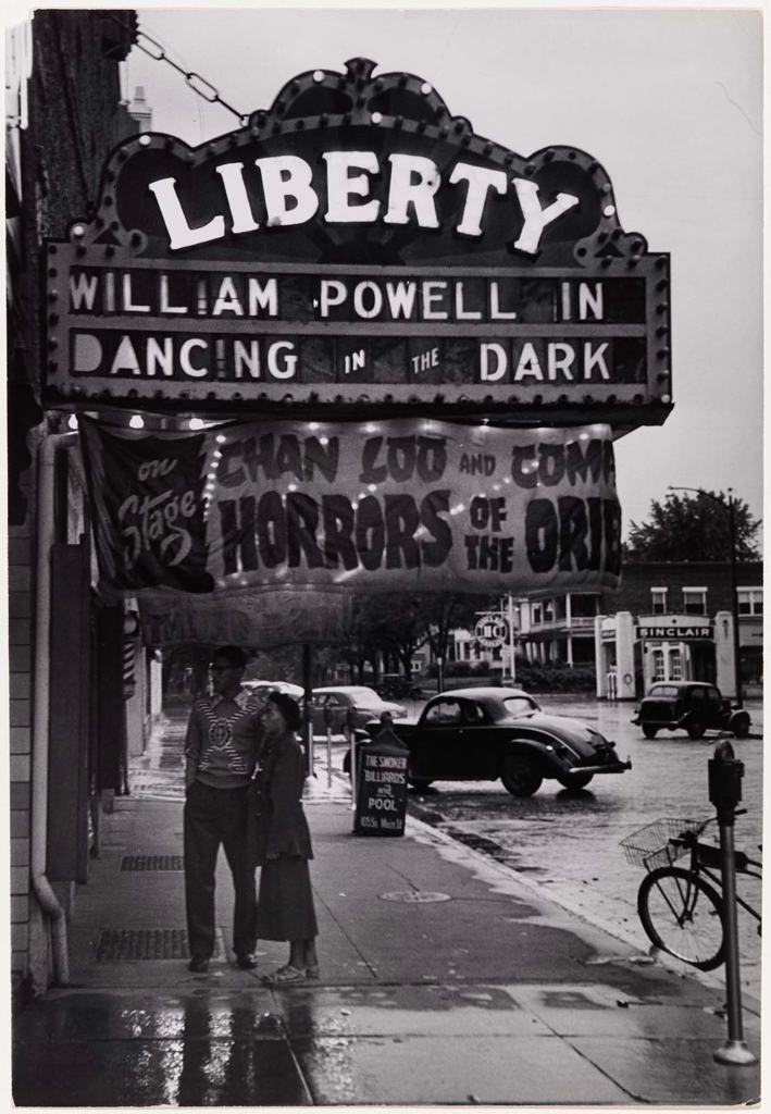 Gordon Parks,   Outside the Liberty Theater, Fort Scott, Kansas  , 1950, Museum of Fine Arts Boston, Sophie M. Friedman Fund, © The Gordon Parks Foundation.