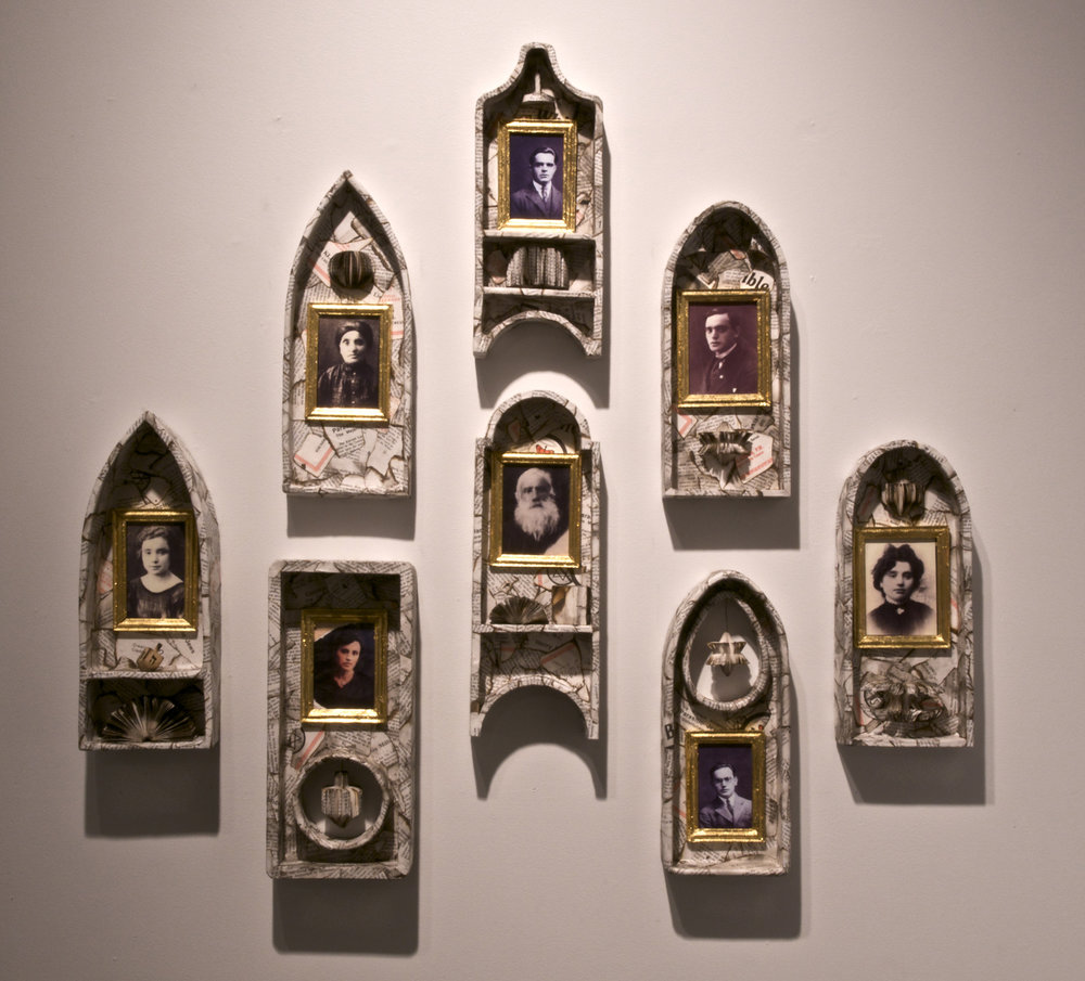 Jean Grosser. Shrines, 2007