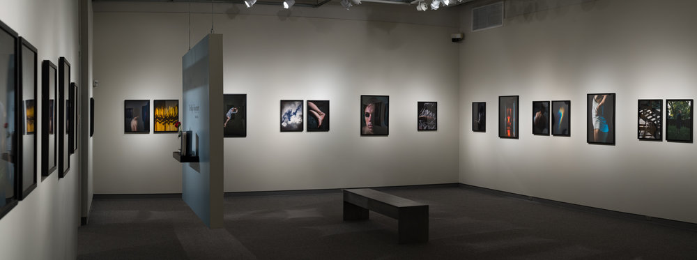 Installation view,The Rug's Topography