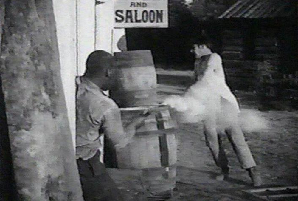 Birth of a Nation (1915).Free Black shoots a White man (source)
