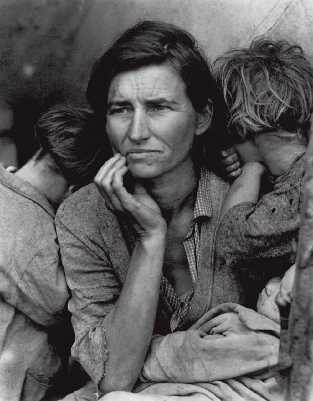 Dorothea Lange.  Migrant Mother.  (1936).