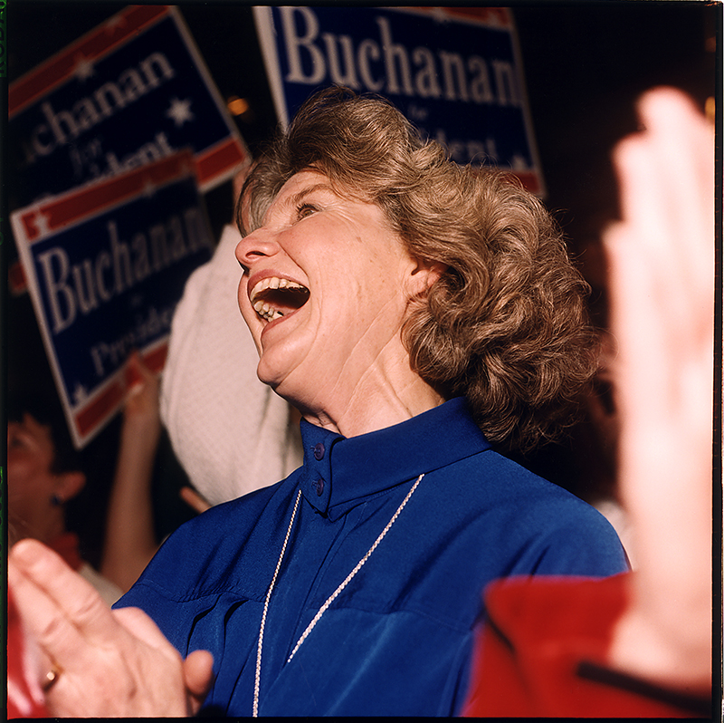 © Meg Handler, Pat Buchanan Rally