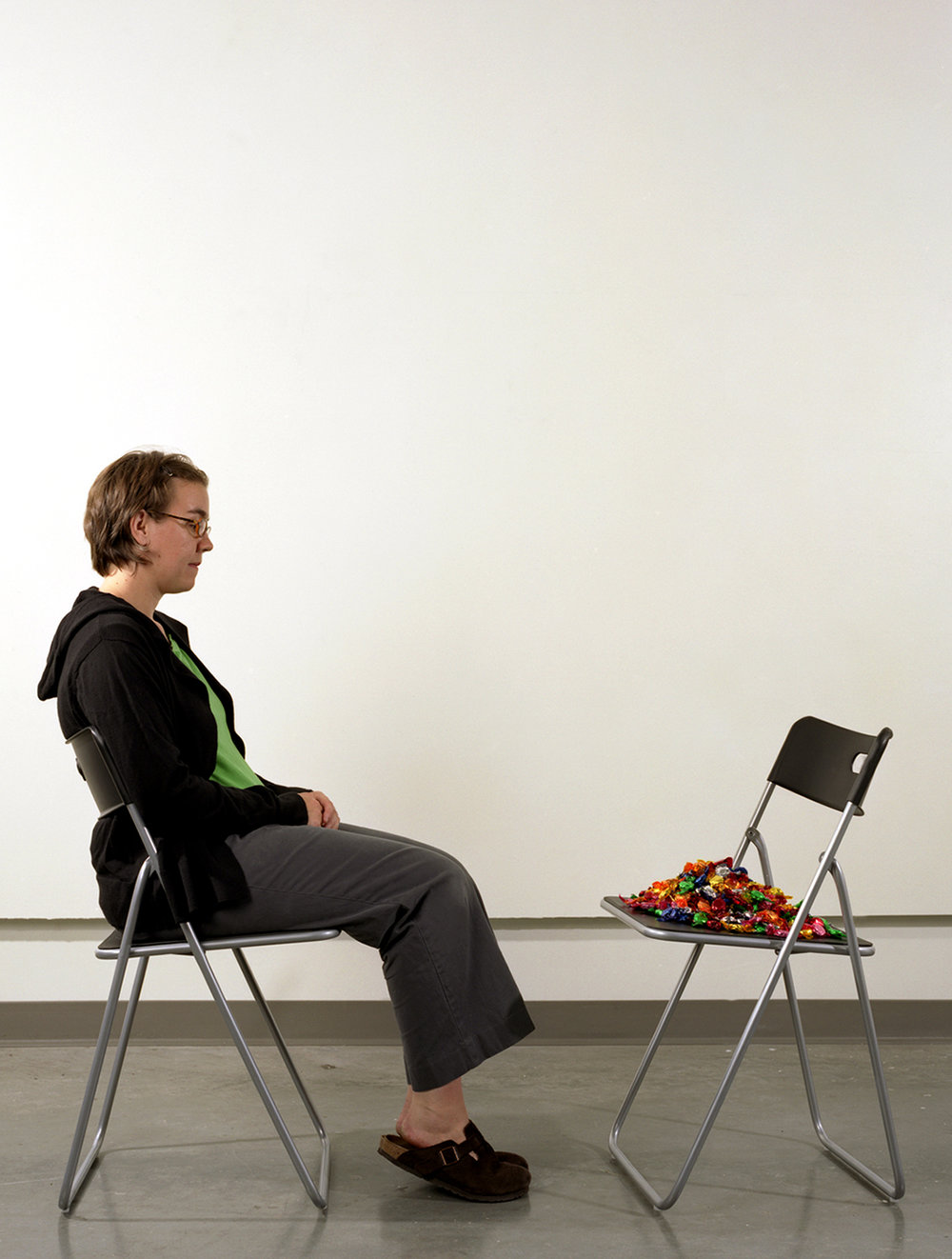 """""""Sitting with Ross in L.A,""""  from the series  (Not) Knowing Felix"""
