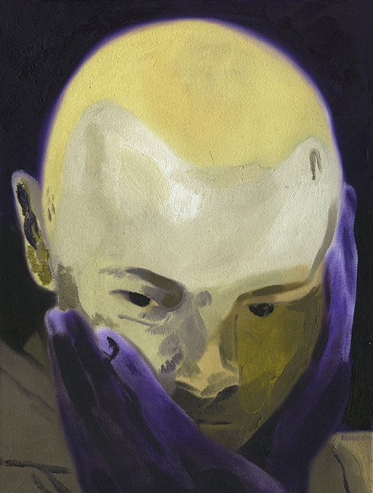 "pOTOTM,  oil on canvas, 12"" x16"", 2017"