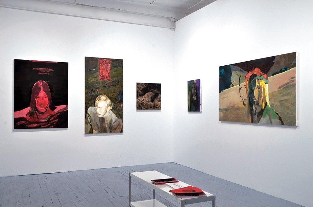 Anthony Cudahy / Nick Van Zanten at the  Dawn Hunter Gallery