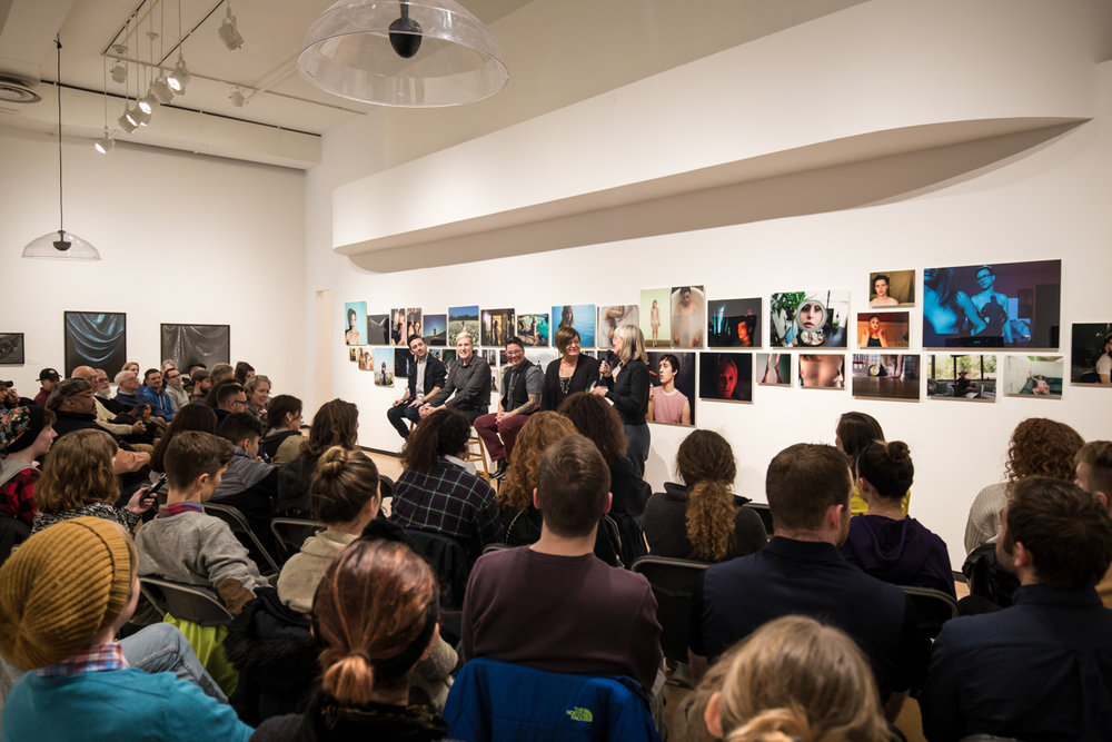 Panel discussion at the Museum of Contemporary Photography, Chicago, IL, 2017