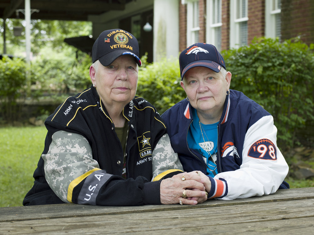 Hank, 76, and Samm, 67, North Little Rock, AR, 2015