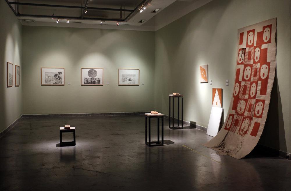Exhibition view,  My Nose Grows Now!   Sala Luis Miro Quesada Garland / Sala770 2016