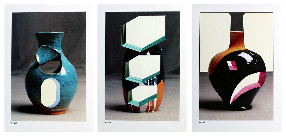 Terracotta Series Nº 413/Nº 506/Nº 106  A4, mix media, 2018