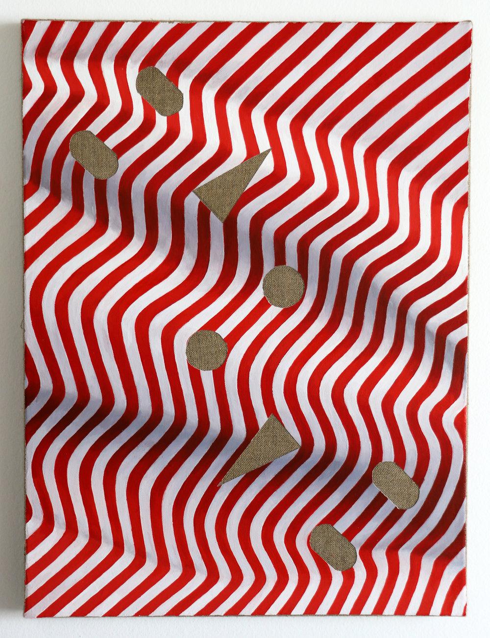 ~o~o , 30 x 40 cm oil on linen, 2016